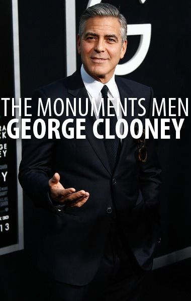 George Clooney said that The Monuments Men was a happy accident because his producing partner stumbled upon the compelling true story in an airport. http://www.recapo.com/live-with-kelly-ripa/live-with-kelly-interviews/george-clooney-vs-tina-fey-gravity-monuments-men-true-story/