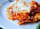 Baked pasta-healthier version of Sbarro's Baked Ziti
