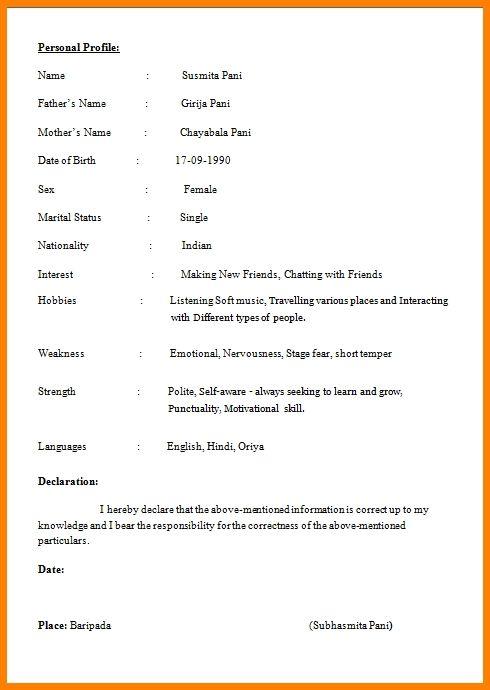 Resume Format Student Format Resume Resumeformat Student