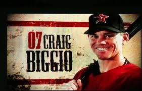 Craig Biggio spent his 20-year baseball career with the Houston Astros, where he was a 4-time Golden Glove winner and 5-time Silver Slugger winner.  He amassed 3,060 career hits and was a 7-time All Star who won the Roberto Clemente award in 2007.