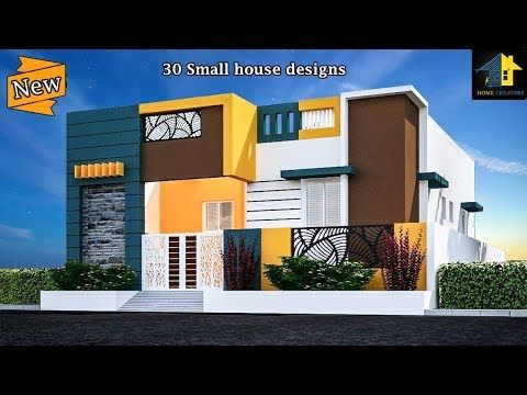 30 Beautiful Small House Front Elevation Design 2019 Ground