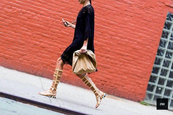 FRONT ROW: Trend alert: Gladiator sandals / Sandalias gladiadoras
