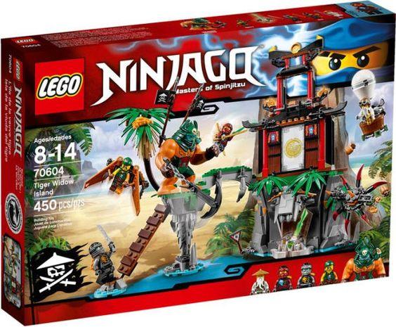 70604 Lego Ninjago Tiger Widow Island Lego Ninjago Ninjago Lego