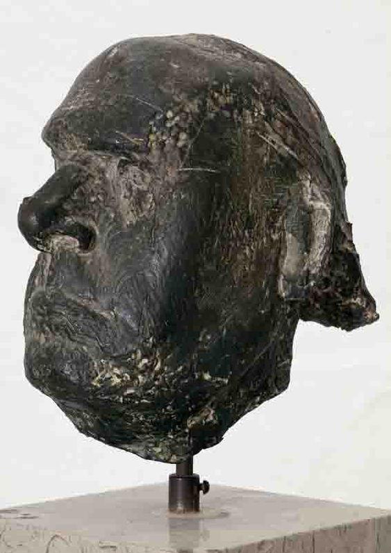 Ritratto del pittore Carrà Marino Marini  scultura, bronzo  INV.: 3006 larghezza: -- altezza: 23