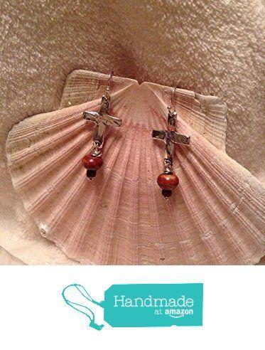 Artisan Hand Made Sterling Silver and Gemstone Pierced Earrings from The Artisan Zipper http://www.amazon.com/dp/B01CMWV5B6/ref=hnd_sw_r_pi_dp_skk3wb160M2H0 #handmadeatamazon