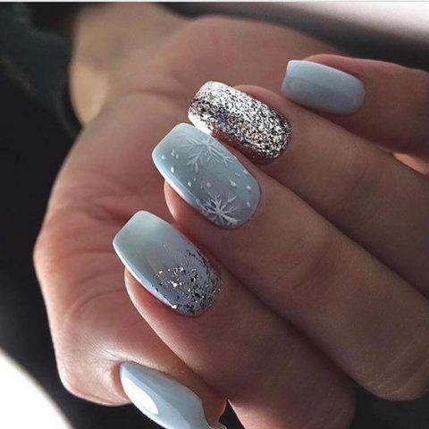 43++ Nail designs 2021 winter ideas ideas