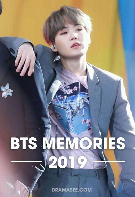 BTS Memories of 2019