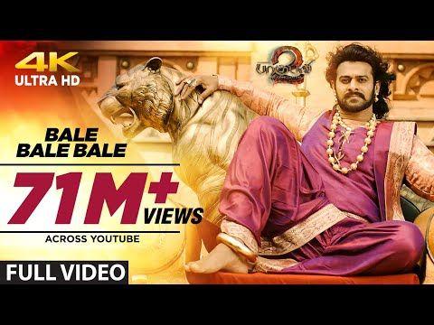 Bale Bale Bale Full Video Song Baahubali 2 Tamil Prabhas Anushka Shetty Rana Tamannaah Bahubali Youtube In 2020 Songs Hindi Movie Video Tamil Video Songs