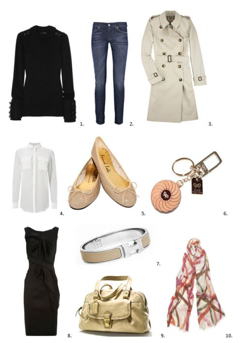 French Fashion Classic And French On Pinterest
