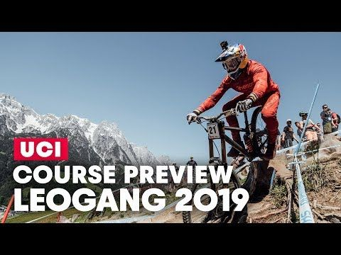 Gee Atherton Dh Course Preview Uci Mtb World Cup Leogang 2019