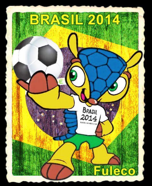 En La Copa Mundial De Futbol Brasil 2014 Conocimos A Fuleco Un Amigable Y Simpatico Armadillo Su Nomb Copa Del Mundo Copa Mundial De Futbol Mundial De Futbol