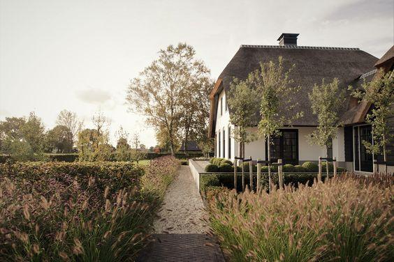 Landelijke tuin bij gerenoveerde boerderij in Uddel 10