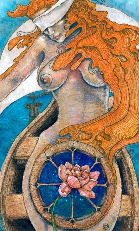 Tarot X The Wheel Of Fortune: X The Wheel Of Fortune Tarot Print