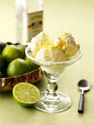 Leckere schnell gemachte Eiscreme