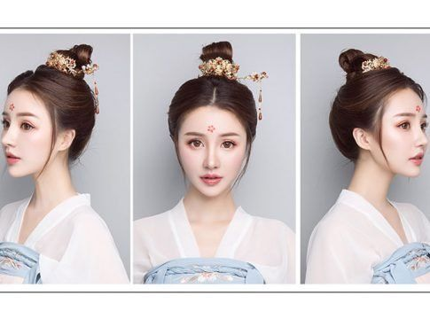 Simple Beautiful Hanfu Hairstyle For Boys Girls 2020 In 2020 Traditional Hairstyle Chinese Hairstyle Hanfu
