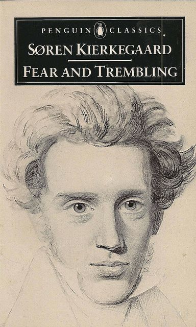 """Faith begins precisely where thought leaves off"". Søren Kierkegaard, Fear and Trembling."