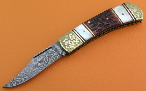 Custom 100 Handmade & Forged Damascus Steel Jigged by SanaCutlery, $49.99
