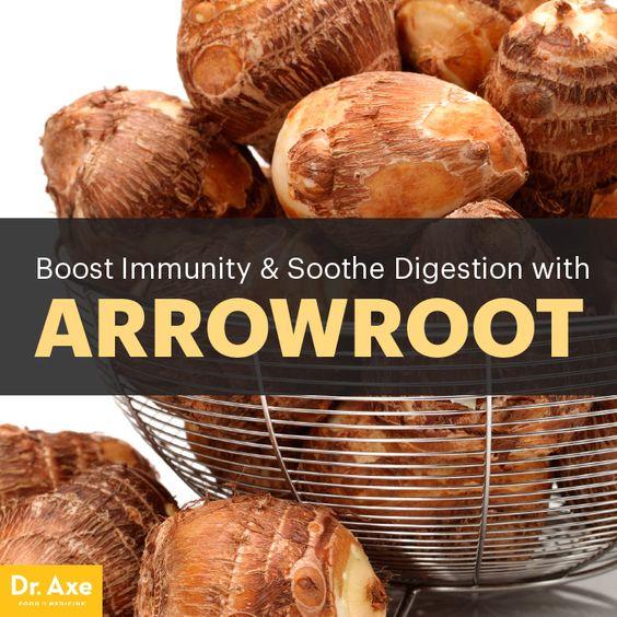 Arrowroot benefits - Dr. Axe http://www.draxe.com #health #holistic #natural #detox