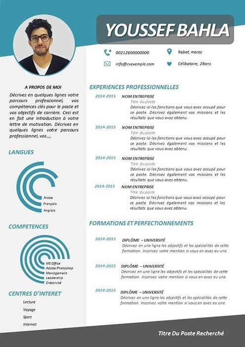Modele De Cv Powerpoint 2020 A Telecharger Gratuit Modele Cv Gratuit Word Cv Gratuit Word Modele Cv