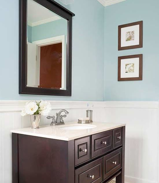 Single Vanity Design Ideas Painting The Powder Room Vanity Black With Light Granite Top 72 Inch Dar Brown Vanity Bathroom Brown Bathroom Vanity Vanity Design
