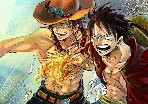 """Ch, what would you do without me, Luffy?"" Gomu Gomu no ..."