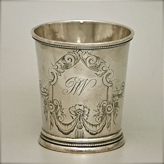 Mint julep cup. Because they're so ridiculously simple and yet ...