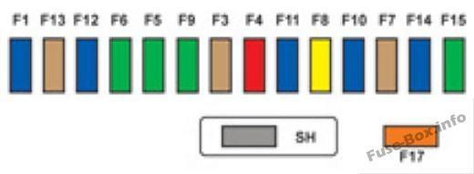Instrument panel fuse box diagram: Citroen DS3 (2009, 2010, 2011, 2012,  2013, 2014, 2015, 2016) | Citroen ds3, Fuse box, Electrical fuse | Citroen C3 Fuse Box Diagram |  | Pinterest