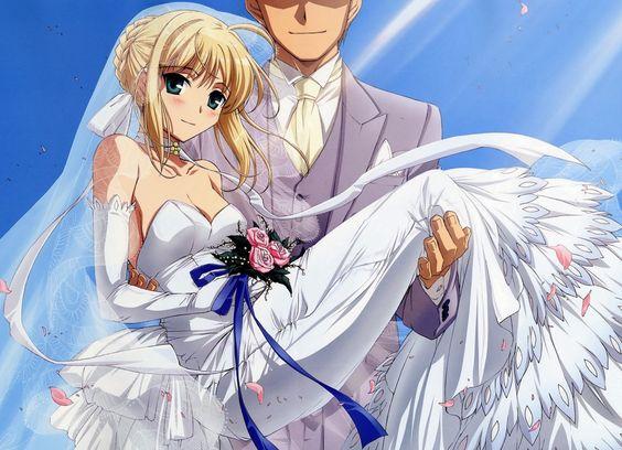 Resultado de imagem para animes marry dress