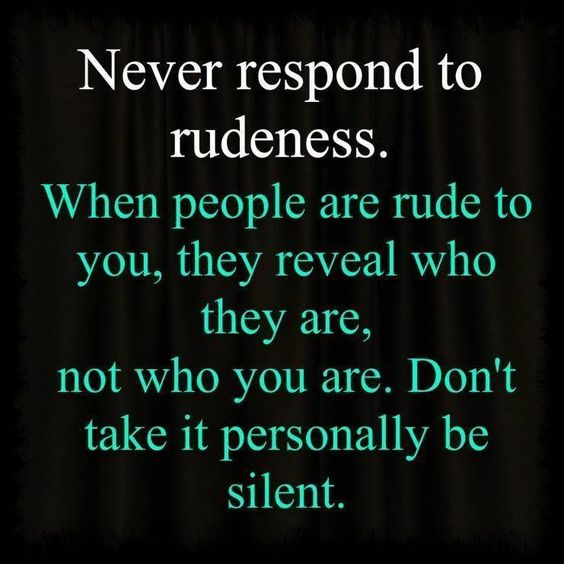 Sometimes silence is the best towards hateful people.  It drives them crazy when they have nothing to feed off of!