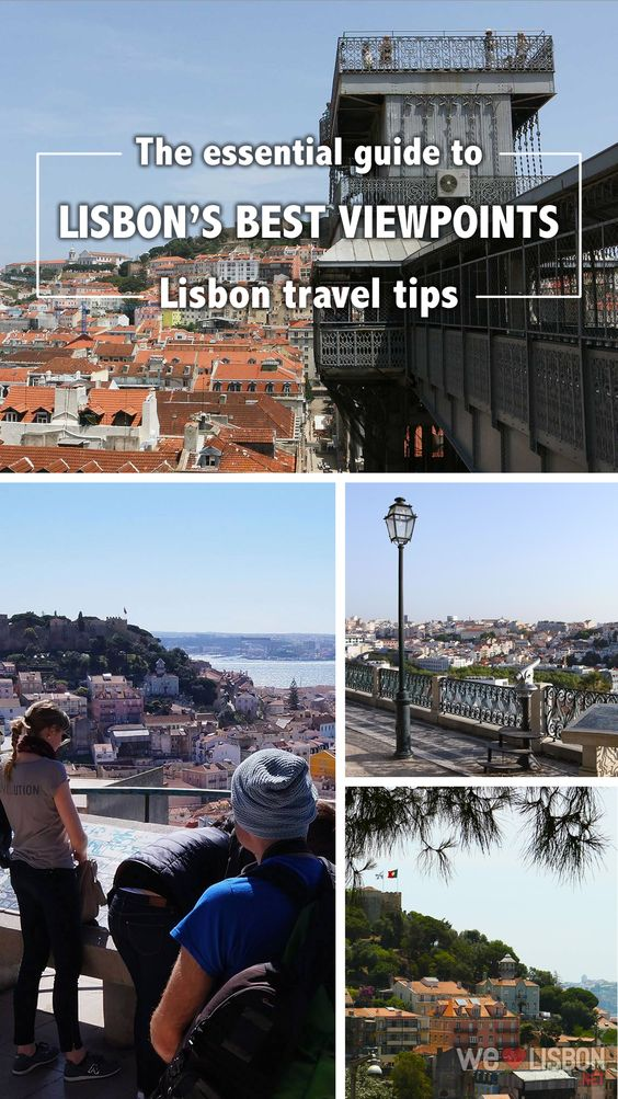 The essential guide to Lisbon's best viewpoints. If you're exploring the historic neighbourhoods, including Alfama, Castelo & Graça, Bairro Alto and Baixa-Chiado, these spots offer scenic views that Lisbon is so famous for.