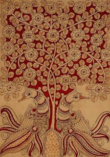 Tree of  life in Kalamkari    Textile & Fashion: March 2011