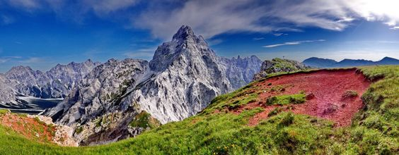 Hirschwies mit Watzmann-Südspitze © Andreas Wiesinger/andi rennt