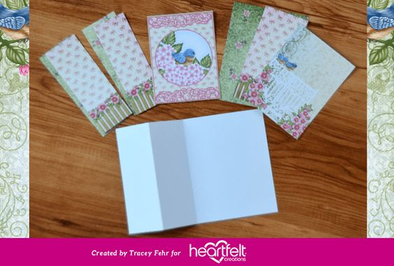 New Step by Step Cardmaking Tutorial: My Wish For You Birds & Blooms S-Card   Blog Post