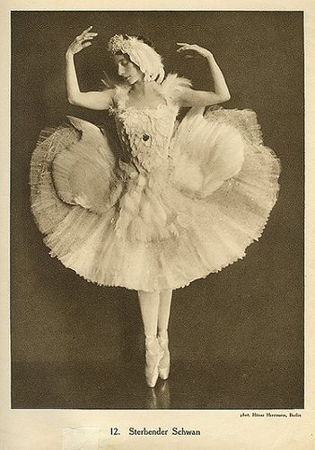Anna Pavlova vintage ballet ballerina photo by ilyaballet, via Flickr    My ballet heroine.