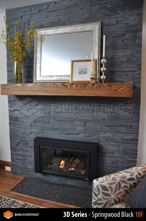 natural stone veneer for fireplace