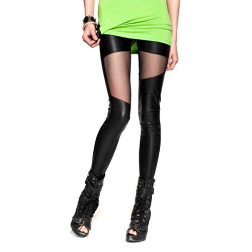 LOCOMO Women Faux Leather Mesh Inset Footless Legging Skinny Slim S-M FFT011 LOCOMO Leggings http://www.amazon.com/dp/B00CCS35FU/ref=cm_sw_r_pi_dp_CyDXtb07QQG0YE99