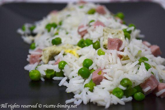 Riso alla cantonese Bimby • Ricette Bimby