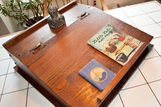 Hey, I found this really awesome Etsy listing at http://www.etsy.com/listing/105894114/vintage-thoreau-style-writing-desk