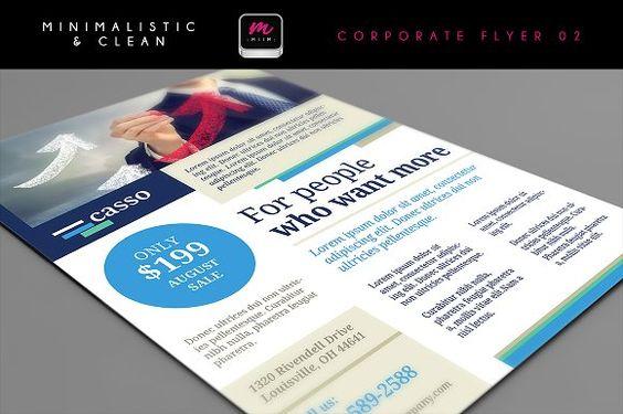 Flat Polygonal Power Crystal Flyer Flyer template - workshop flyer template