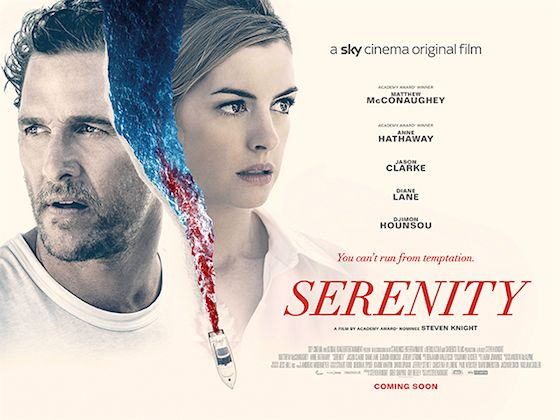 Tonight S Film Serenity A Local Fisherman Obsessed With Catching A Legendary Tuna Has His Movie Posters Movie Posters Vintage Originals Matthew Mcconaughey