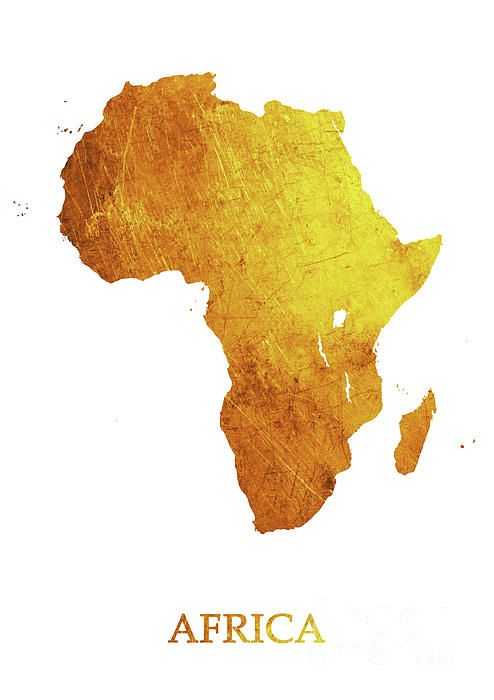 Gold In Africa Map Pin on Wish