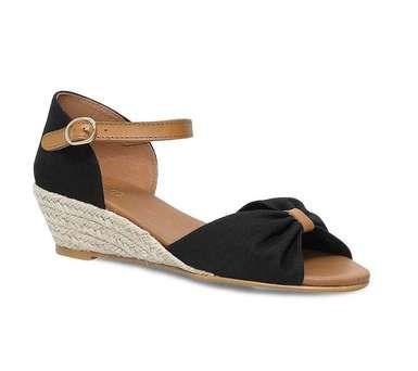 sandale petit talon compens vue 1 la mode la mode la mode pinterest. Black Bedroom Furniture Sets. Home Design Ideas