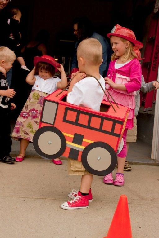 still kills me that I forgot to bring the trains I made for max's party ... cardboard_fire_truck_fireman_birthday_party