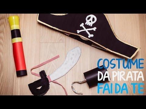 ▶ Costume da pirata per bambino fai da te - 2 parte - YouTube