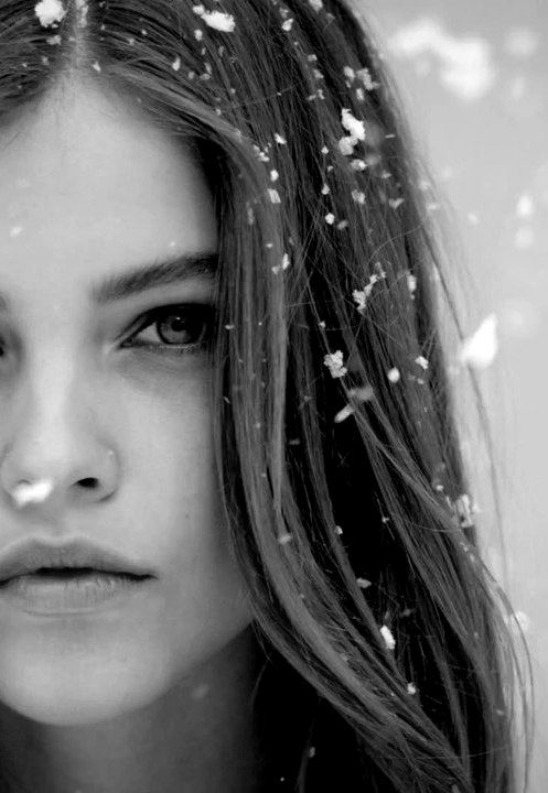 ~Barbara Palvin & snow~