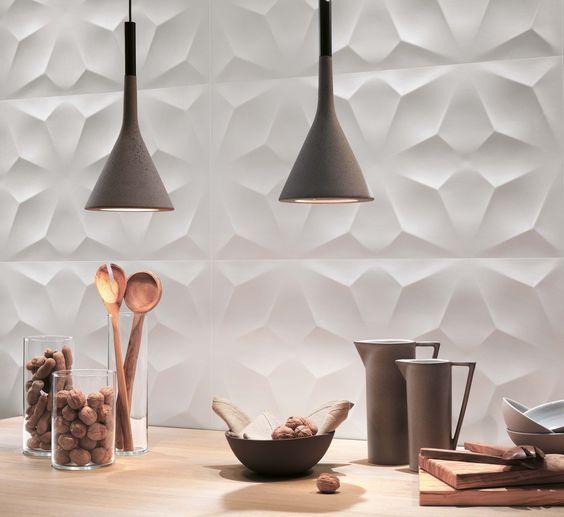 Piastrelle 3d cucina: novità ed eleganza | Piastrelle, Idea ...