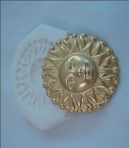 BNS Polymer Clay Mold - scottie - sunface