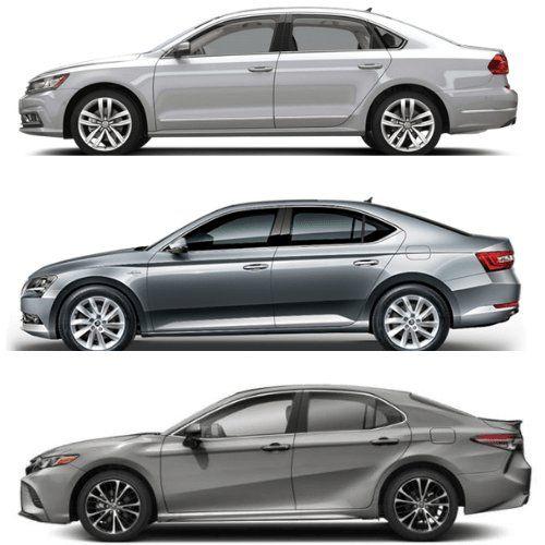 Volkswagen Passat Vs Toyota Camry Vs Skoda Superb Comparison