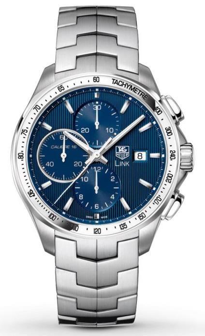 TAG Heuer Link Calibre 16 Leonardo DiCaprio Automatic Chronograph