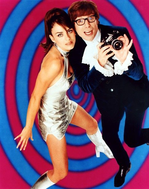 Image result for austin powers and vanessa kensington